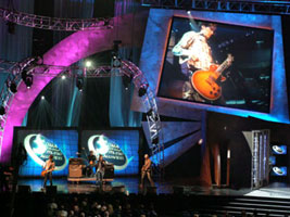 Sanctus Real Performing at the GMA Awards